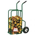 Chariot à bois grande capacité 250kg