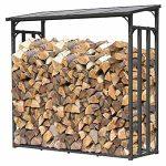 QUICK STAR abri bois de chauffage pour cheminée poêle à bois